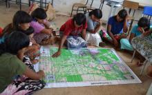 Mulheres Xavante discutem o plano de gestão de Marãiwatsédé | Mel Mendes-OPAN