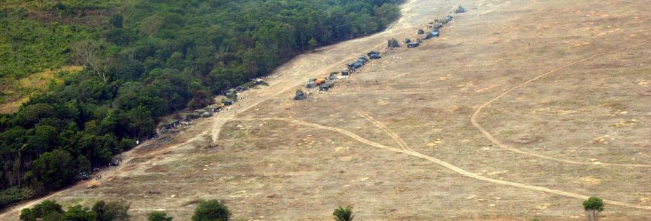Foto aérea da TI Marãiwatsédé / Wilson Dias/Abr